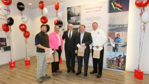 Comcast Unveils New Xfinity Customer Retail Center in Tupelo, Miss.