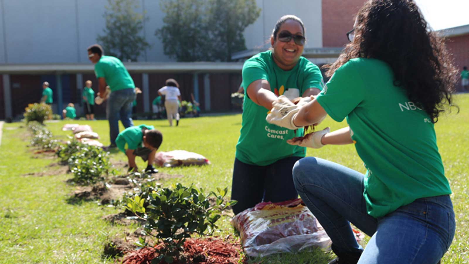 Visit Haven of Peace - Comcast Cares Day hero