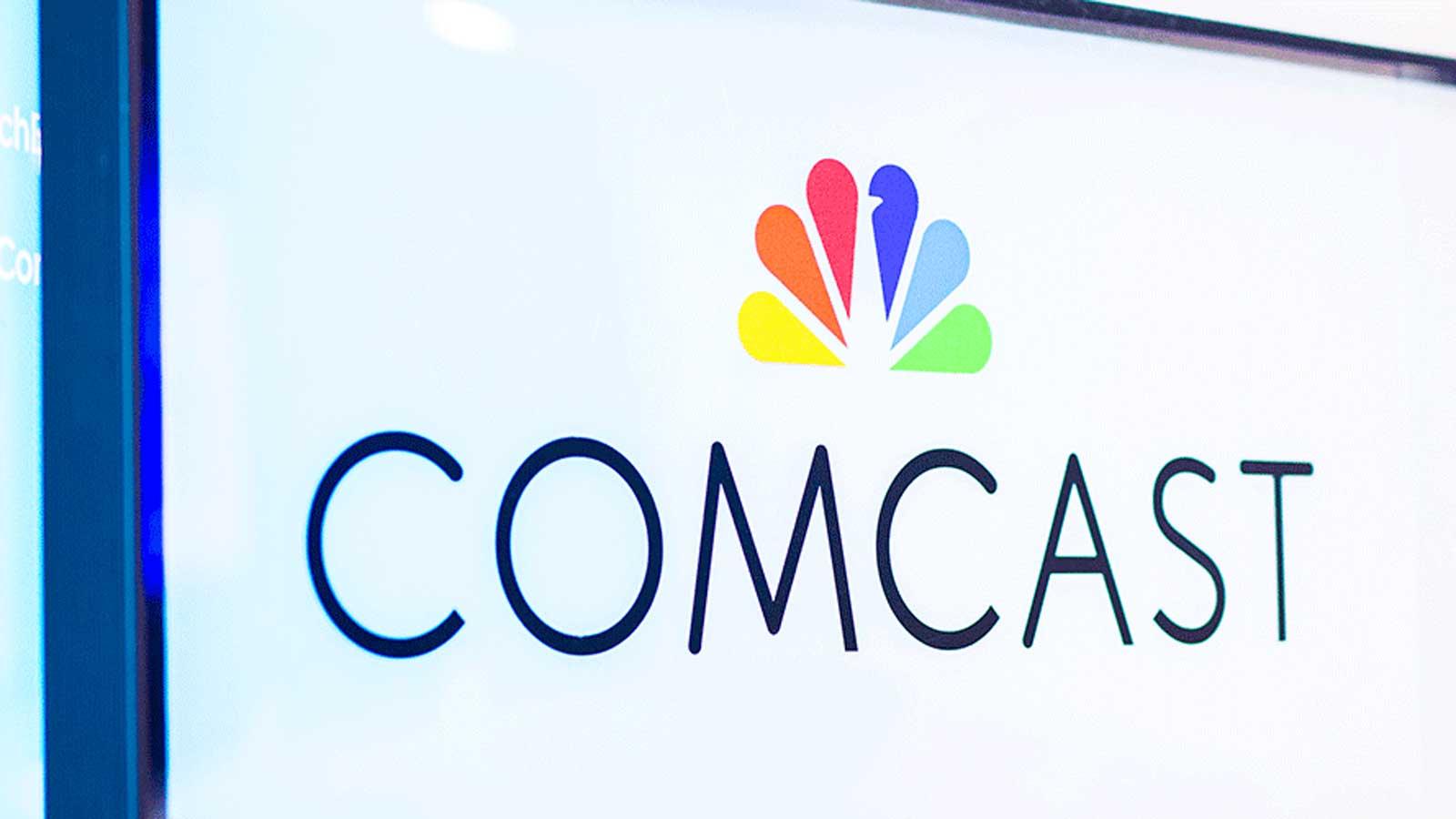 Comcast signage