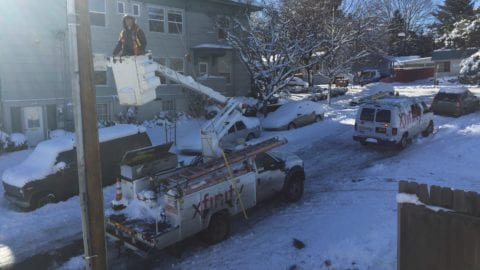 Comcast South Updates Customers on Impact of Winter Storm Inga
