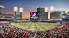 Comcast and Atlanta Braves Fans Try to Set A New Guinness World Record on April 18