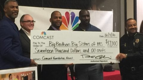 Comcast Donates $37,000 in Technology Grants to Mississippi Youth