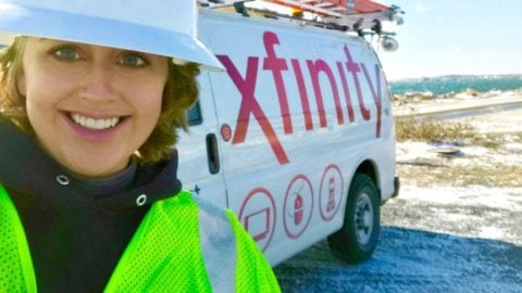 Comcast South Service Updates on Winter Storm Inga