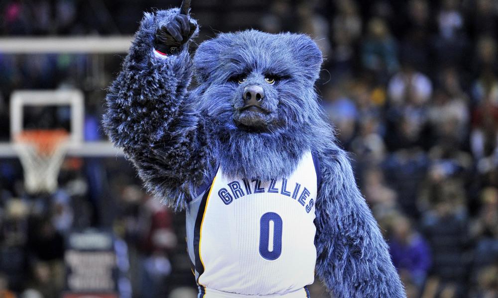 new concept a04e5 0a72d Memphis Grizzlies Mascot 'Grizz' to Help Comcast Celebrate ...