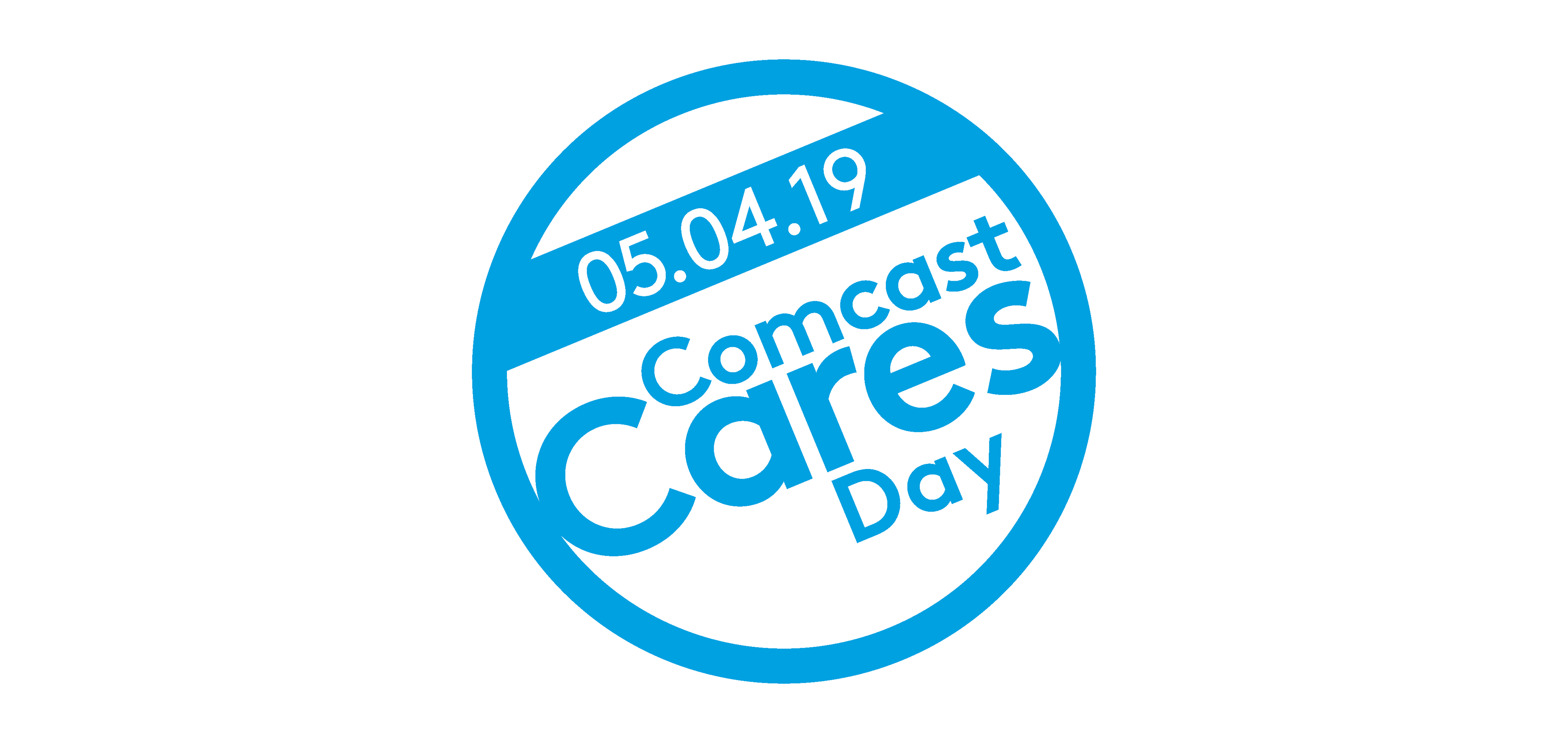 The Comcast Cares Day logo.