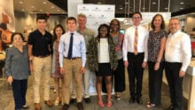 Middle Tennessee Leaders and Achievers Scholarship Winners.