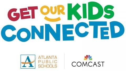 Get Our Kids Connected Logo - Atlanta Public Schools